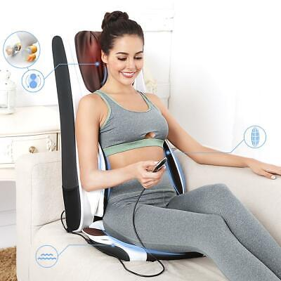 Shiatsu Massage Seat Cushion with Heat Back Massager Chair for Home Car office
