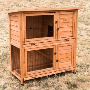 ♥♥♥ Rabbit Hutch Double Storey + 2 x Pull Out Trays ♥♥♥ Londonderry Penrith Area Preview