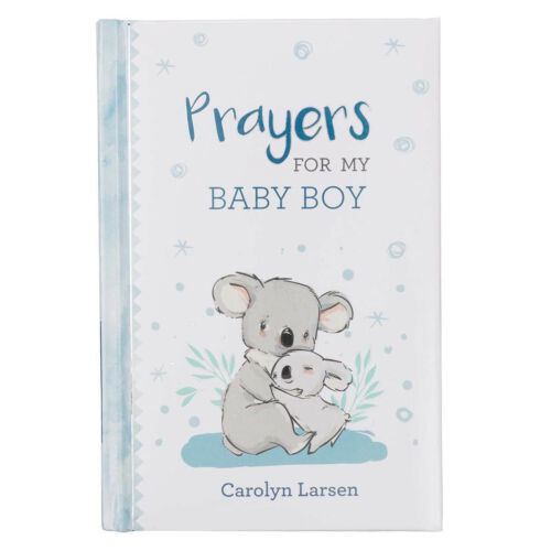 Mothers, Prayers for My Baby Boy Prayer Book, Scriptures Blue Padded Hardcover
