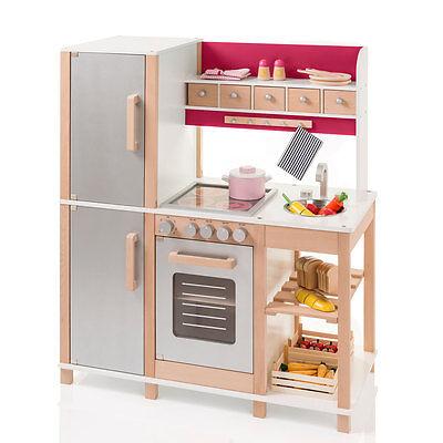 Sun 04136 Kinderküche / Spielküche natur-beere Holz mit
