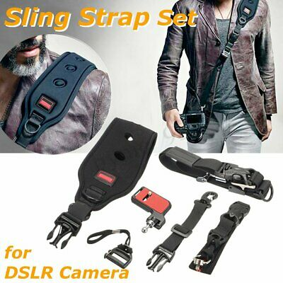 US Carry Speed Camera Strap Prime FS-PRO Sling F2 Plate for Canon Nikon Camera !