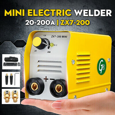 Zx7-200 200a Mini Electric Welding Machine Igbt Dc Inverter Arc Mma Stick Welder