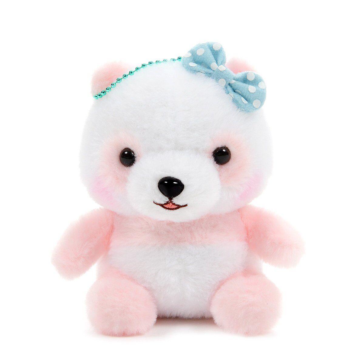 Panda Plush Toy Cute Stuffed Animal Plushie Ball Chain Size
