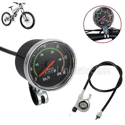 Tachometer Analog Fahrrad im Retro Look km/h rpm Tacho Computer Fahrradcomputer online kaufen