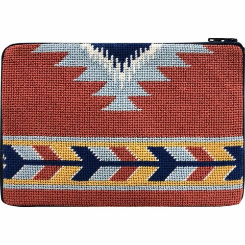 Stitch & Zip Needlepoint Cosmetic Case Kit - Southwest