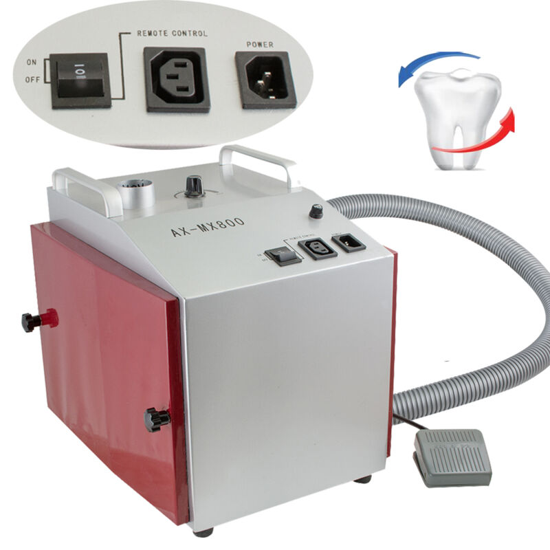 Vacuum Dust Extractor Collector Cleaner Dental Lab Equipment lower noise <60dB