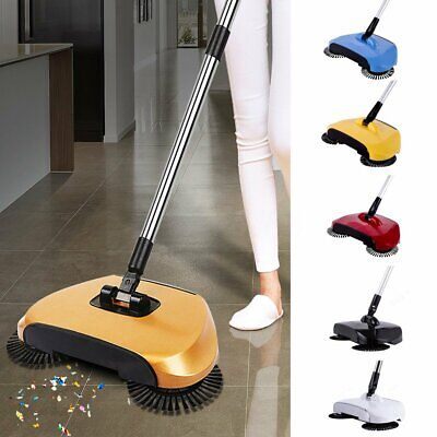 Sweeper (Hand Push Floor Sweeper Automatic Household Cleaning Spinning Broom No )