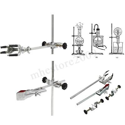 Laboratory Stands Support And Lab Clamp Flask Clamp Condenser Clamp Stands