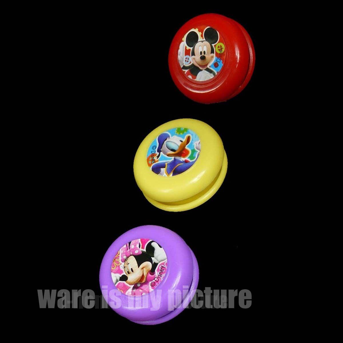 6X Pcs Disney Mickey Minnie Mouse Donald Duck Birthday Party Gift Yo Yo M377