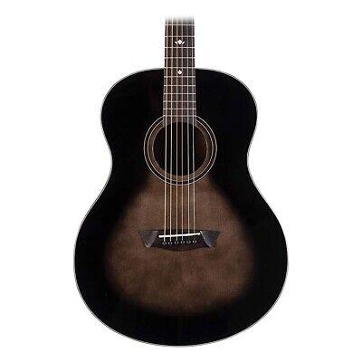 Washburn Bella Tono Acoustic Guitar in Charcoal Burst