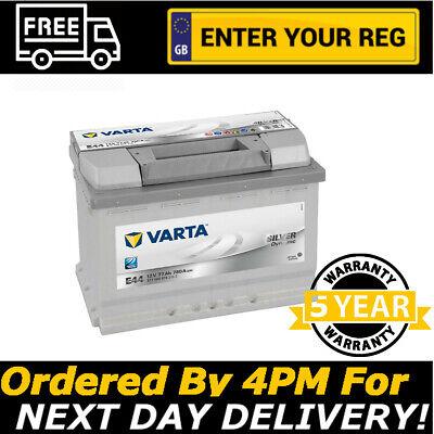096 NEW Varta Silver E44 Heavy Duty Car Battery 77AH SIZE 096 - 5 YEAR WARRANTY