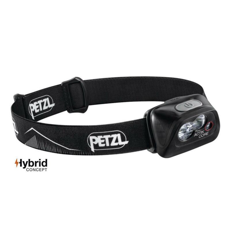Petzl Actik Core 450 Lumens Headlamp Black