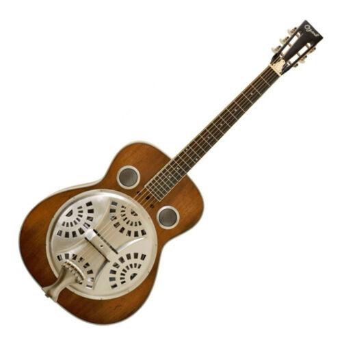 Ozark 3515DD Wooden Resonator Guitar - Distressed Finish
