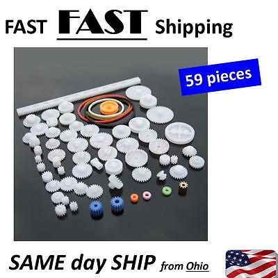 Bulk Small Gear Assortment -- Plastic Gears
