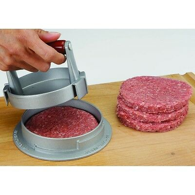 Die Cast Aluminum Kitchen Restaurant Cafeteria Butchers Hamburger Patty Maker