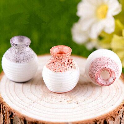 1~5X Home Decor Ceramic Pottery Flower Pot Plant Office Mini Size Vase Ornaments - Mini Vases