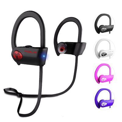 TREBLAB XR500 Bluetooth Headphones Best Wireless Earbuds w/ Mic IPX7 Waterproof