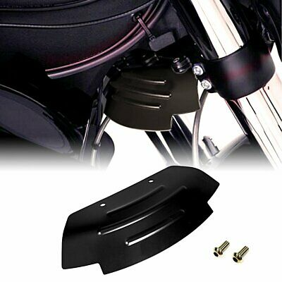 Black Lower Triple Tree Wind Deflector For Victory Cross Country ABS 2010-2017