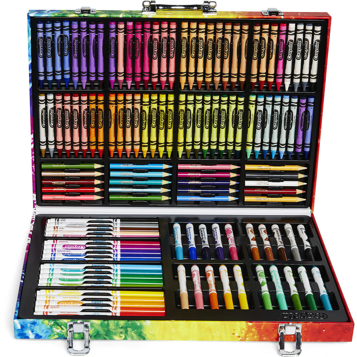 Details about Crayola Inspiration Art Case Drawing Coloring Tools Set  Nontoxic Birthday Gift