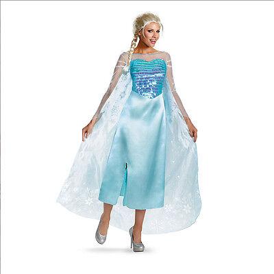 Disney Frozen Elsa Deluxe Adult Costume Disguise 82832