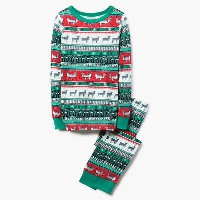 Christmas Boys (NWT Gymboree Christmas Boys Gymmies Reindeer Deer Pajama Set Holiday Fair)