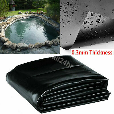 Pond Liner 40 year Guarantee Garden Fish Pond Liners Pool Membrane Landscaping