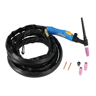 Tig-001 Wp-26v 200 Amp Air-cooled Tig Welding Torch Gas-valve Control Head Body