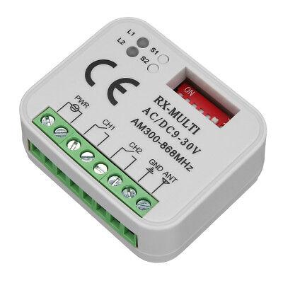 Universal Receiver Remote Control Compatible 300-868Mhz For Marantec Nice Flors