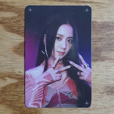 Jisoo Official Photocard BlackPink Special Edition How You Like That Genuine