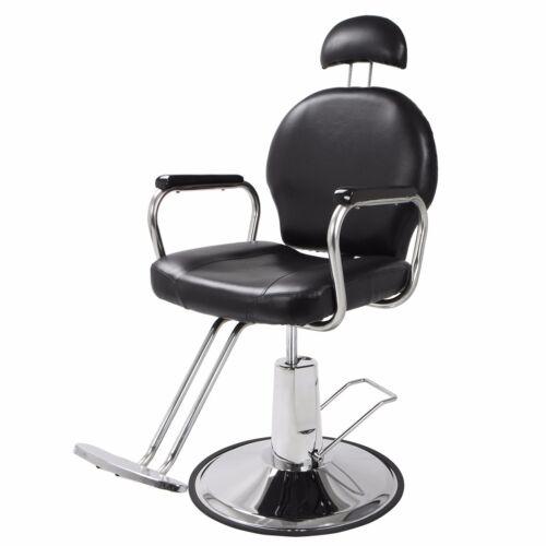 Reclining Hydraulic Barber Chair Salon Styling Beauty Spa...