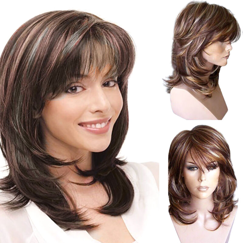 Synthetic Natural Short Curly Wig For Women Ombre Blonde Bob Wavy Full Hair Wig - $13.10