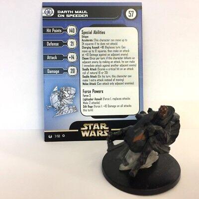 Star Wars Universe #7 Darth Maul on Speeder (VR) Miniature