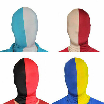 2 Tone Morphmask 8 Colors for Fancy Dress Costume Cheap Morph Masks by Morphsuit