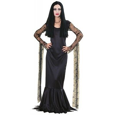 Morticia Addams Costume Adult Addams Family Halloween Fancy - Family Costumes Halloween