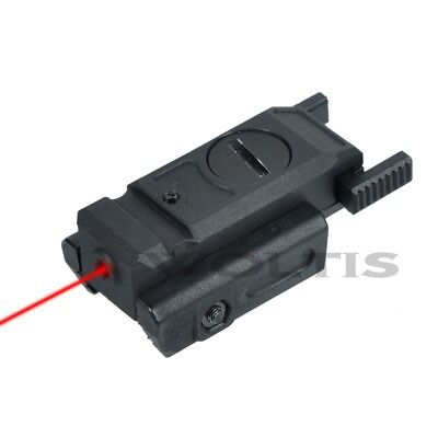 Airsoft Gun Pistol Laser Sight (Gun Laser Sight Airsoft Laser Pointer Pistol Picatinny Weaver & Dovetail Mount )