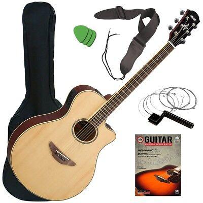 Yamaha APX600 Acoustic-Electric Guitar - Natural GUITAR ESSE