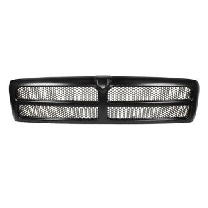 Grille Grill Black Front for Dodge Ram 1500 2500 3500 Pickup Truck