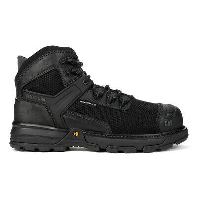 Caterpillar Mens Excavator Superlite Wide Black Csa Nano Toe Work Boots P7...
