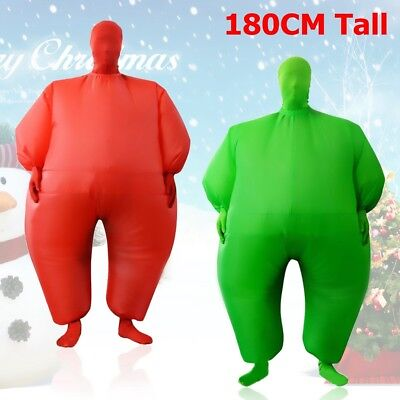 Inflatable Suit Fancy Dress Party Christmas Costume Cosplay Adult Fun Jump US