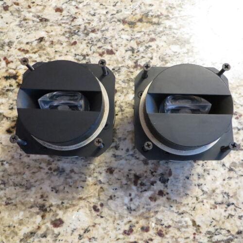 Pair of JBL 077 Tweeters for Jubal & Model L65 Slot Prism Speakers Rare Vintage