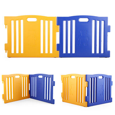 Play Yards For Kids - Extension 2 Panel For Children Baby Safe Playpen Play Yard Large Gate