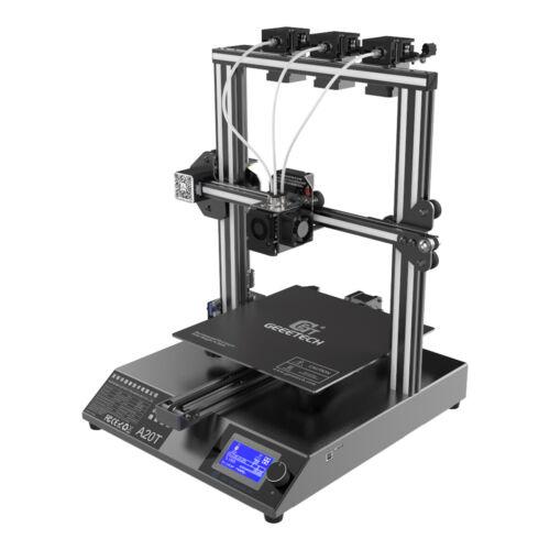 Updated Geeetech A20T Triple Extruders Mix Color 3D Printer GT2560 FDM Technolog