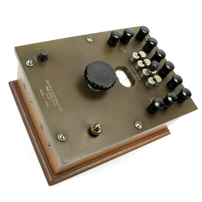 Vintage Leeds Northrup Communications Test Equipment