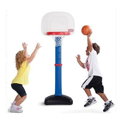 Little Tikes TotSports Easy Score Basketball Set, Toddler Adjustable Hoop Blue