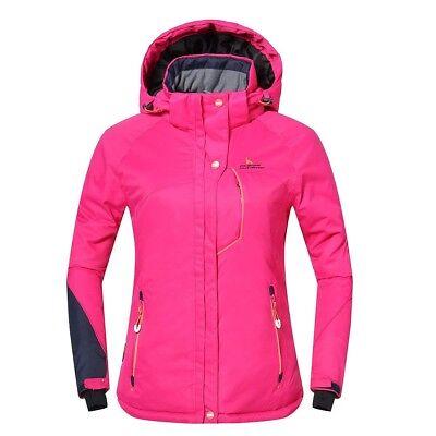 Phibee Outdoor Women s Waterproof Winter Ski Jacket Pink Size S 17724b8aa