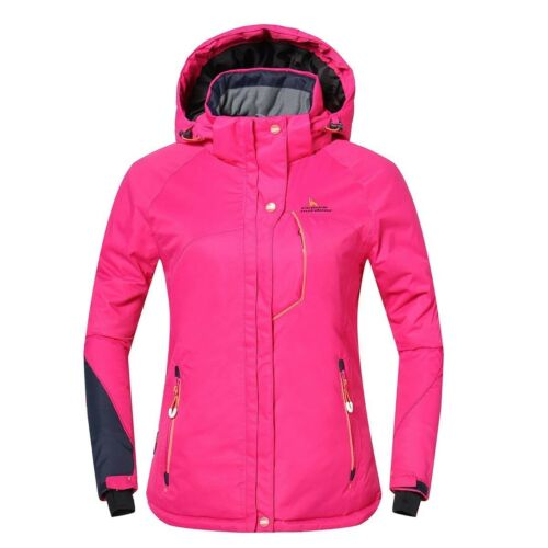 Phibee Outdoor Women's Waterproof Winter Ski Jacket Pink Siz