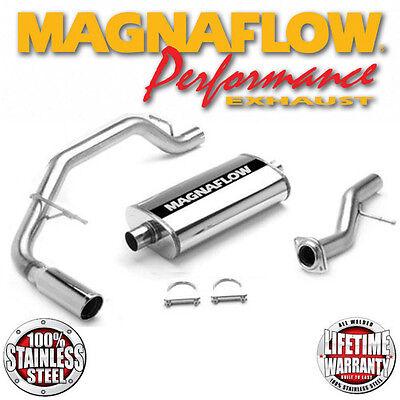 MAGNAFLOW 15666 Hi Flow Cat-Back Exhaust 2002-2005 Cadillac Escalade 5.3L V8 (2000 Cadillac Escalade Exhaust)