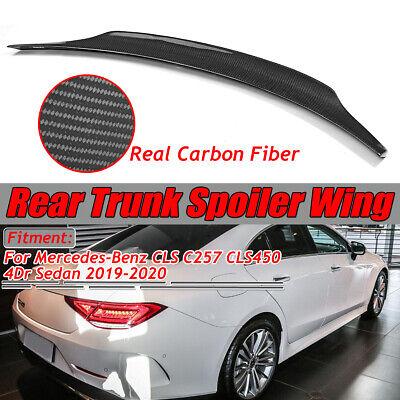 Echte Carbon Fiber Heckspoiler Heckflügel für Mercedes CLS C257 CLS450 2019-20