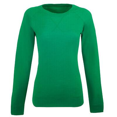 Icebreaker Women's Crave L/S Crewe Shirt Lucky M