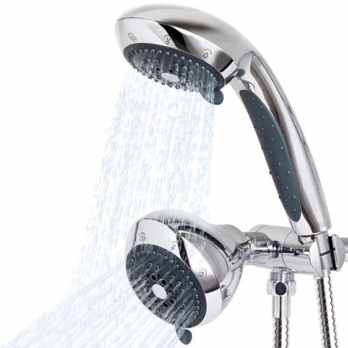 Lifewit Shower Combo Setting Handheld Luxury Head Ultra Rainfall New Dual Chrome